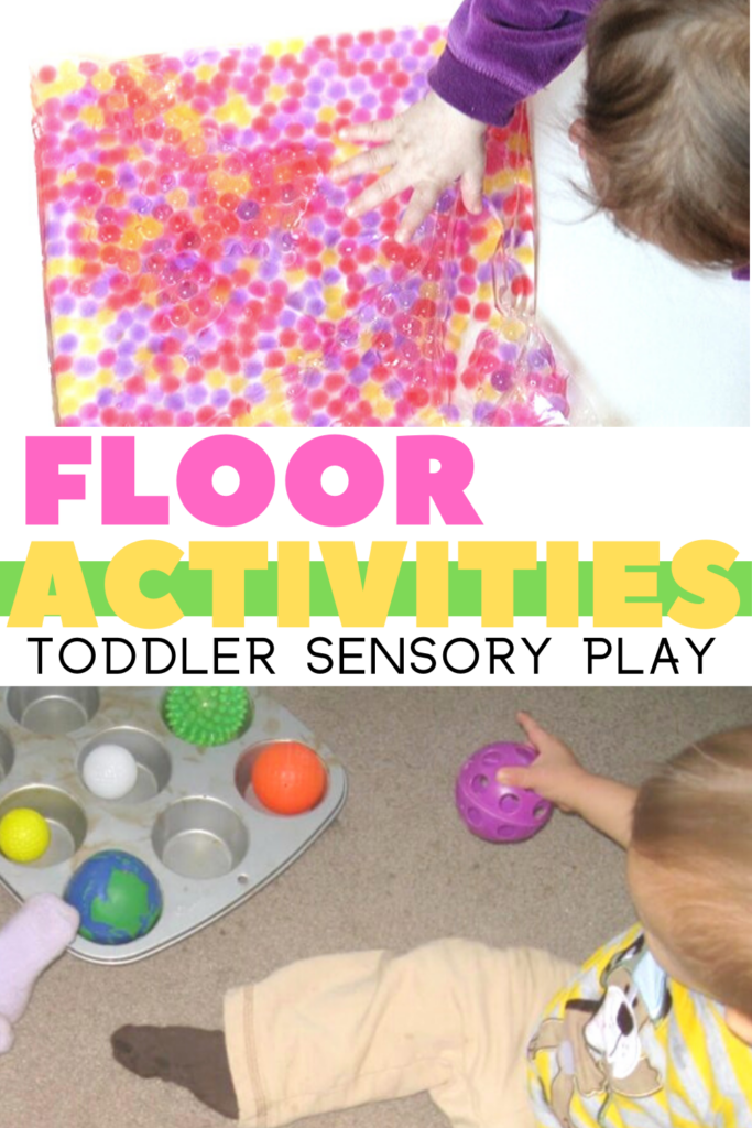 Baby floor play is such a powerful way to help with child development! Use these floor play activities for babies to support skills like crawling.