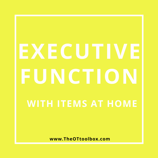 These executive functioning activities are great for OT teletherapy.