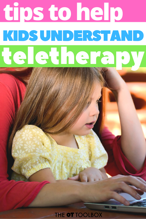 How to explain teletherapy to kids