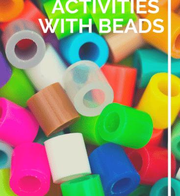 Fine Motor Activities with Beads