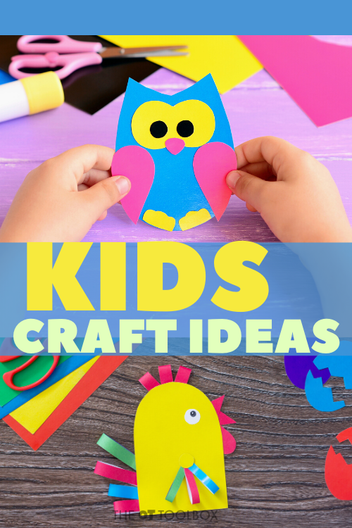 Kids crafts and activities designed to build skills in occupational therapy sessions.