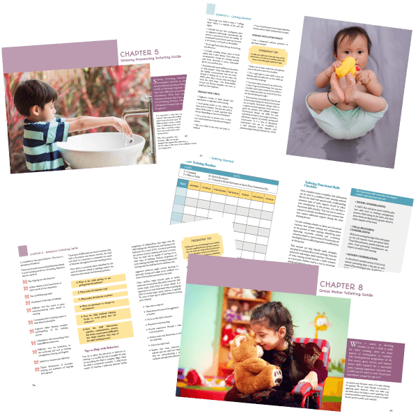 The Toilet Training Book resources by therapists