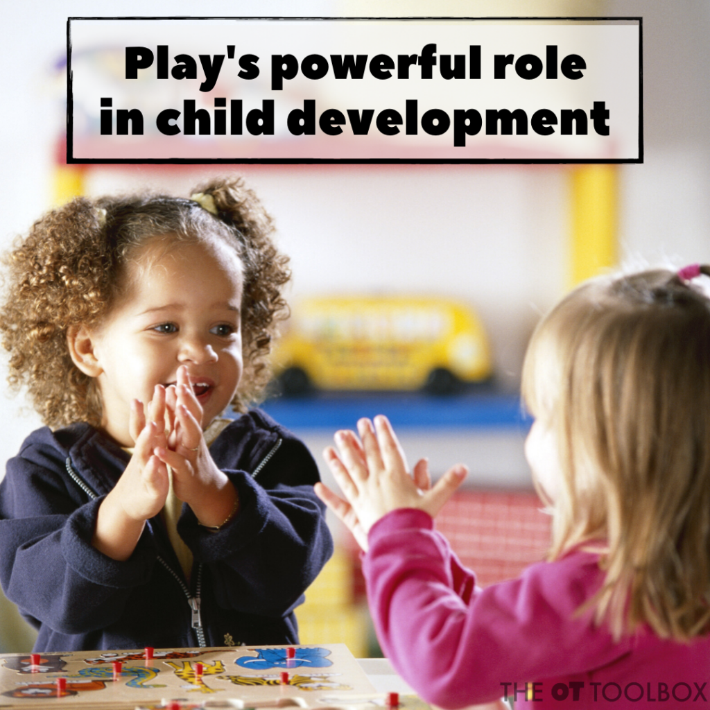 Play's powerful role in child development.