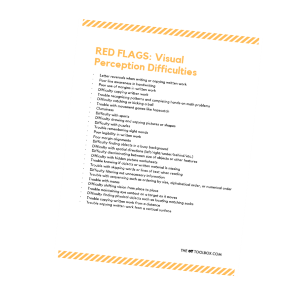 Vision red flags for kids