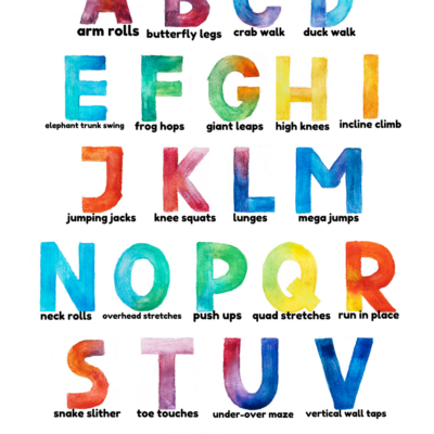 Alphabet Exercises for Kids