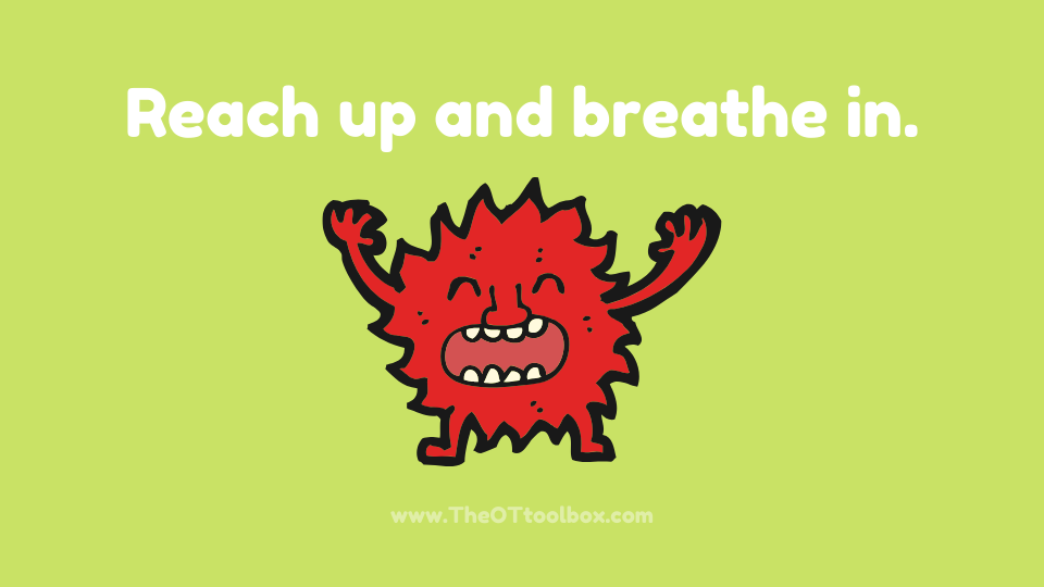 Work on self-regulation activities with a monster theme.