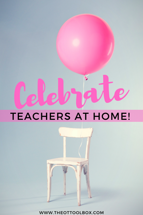 Teacher appreciation week is different this year!
