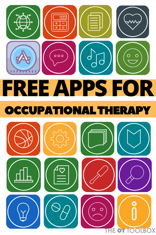 These free apps for occupational therapy build handwriting, executive functioning, visual memory, fine motor skills, and more.