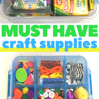 Kids Craft Supplies for Building Skills
