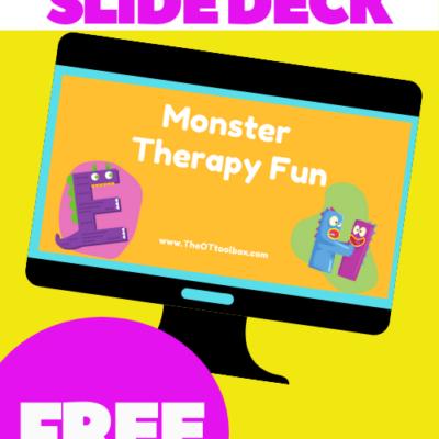 Movement Activities Monster OT Slides