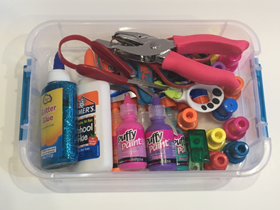 Must have craft supplies to add to your therapy tools
