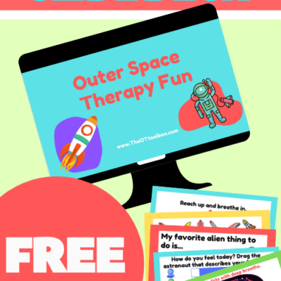 Space Theme Activities Therapy Slide Deck