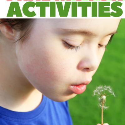 Oral Motor Activities for Summer