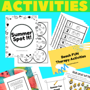summer occupational therapy activities for kids