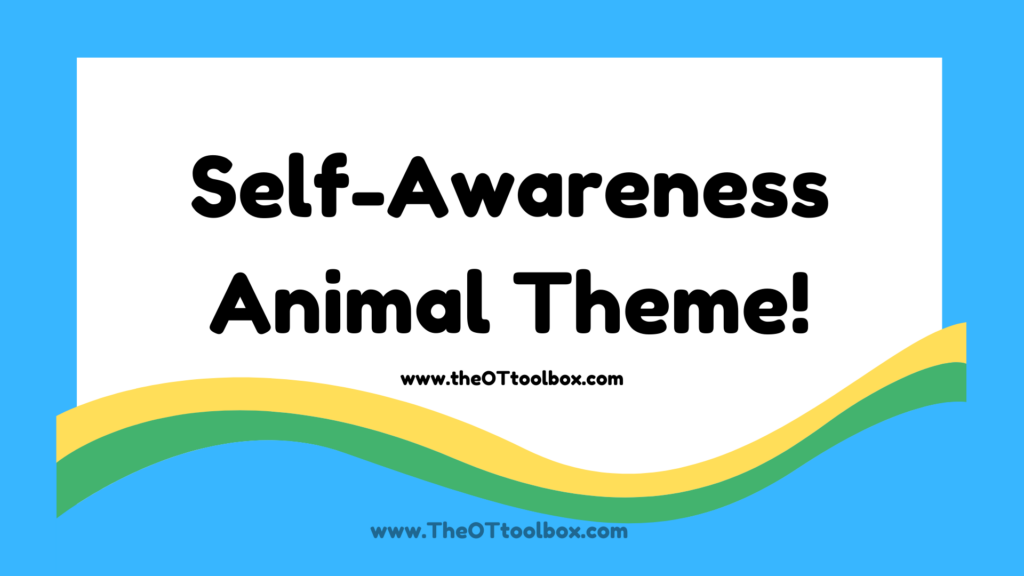 This free self awareness activity slide deck is great for kids to develop self reflection skills with an animal theme