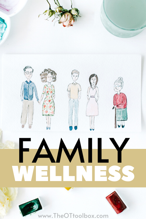 Family wellness includes all aspects of well being. Use this information on family healthy lifestyles to empower families to make healthy choices in activities.