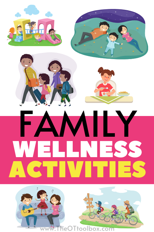 Family wellness activities for the whole family