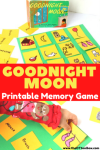 Goodnight Moon activity and Goodnight Moon pdf printable