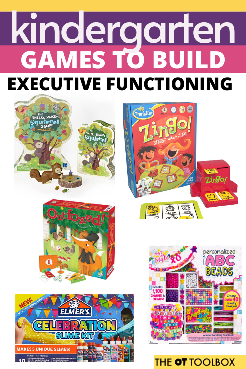 Use these executive functioning games in kindergarten lesson plans and to prepare for kindergarten