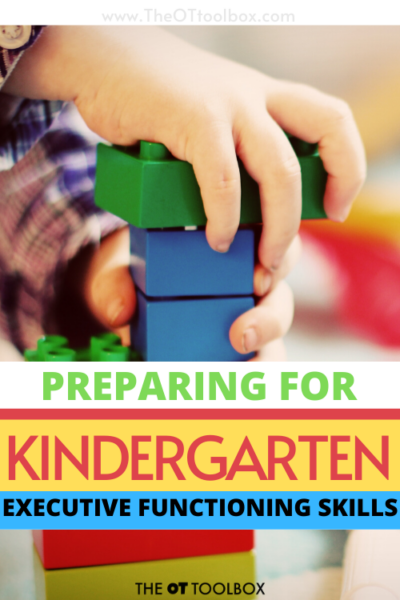 Kindergarten readiness and developing executive functioning skills in kindergarten