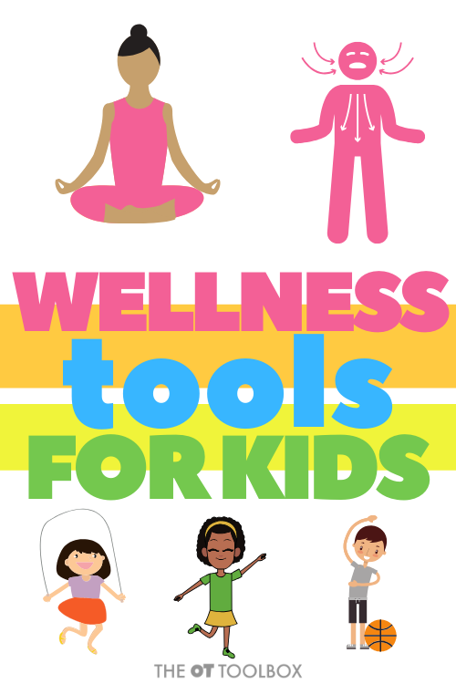 This evidence-based research on wellness tools are ways to help kids master balance, learning, and function.