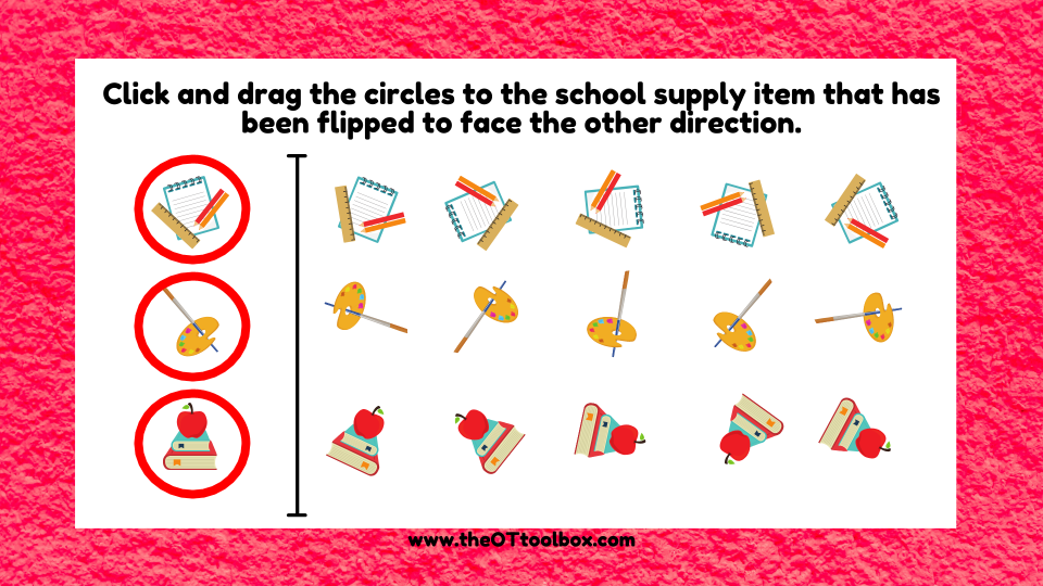 You can help kids improve their visual perceptual skills with interactive, free, back-to-school activities.