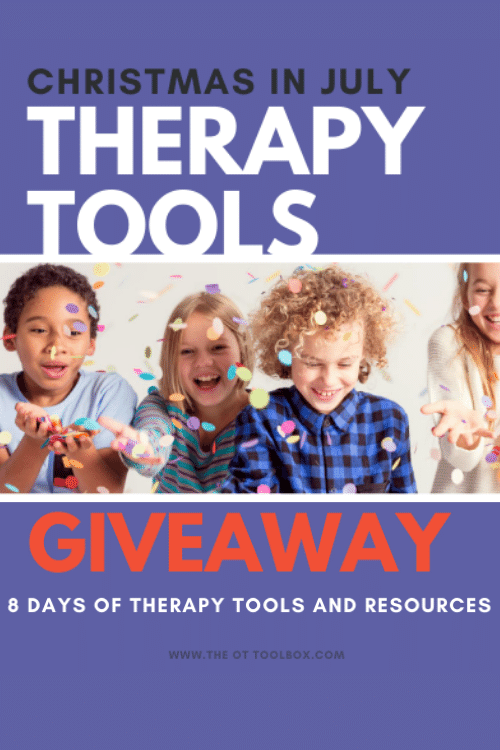 Christmas in July therapy tools giveaway