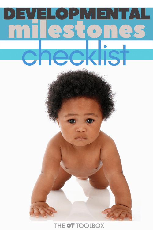 developmental checklist and milestones for kids from birth to 2 years old
