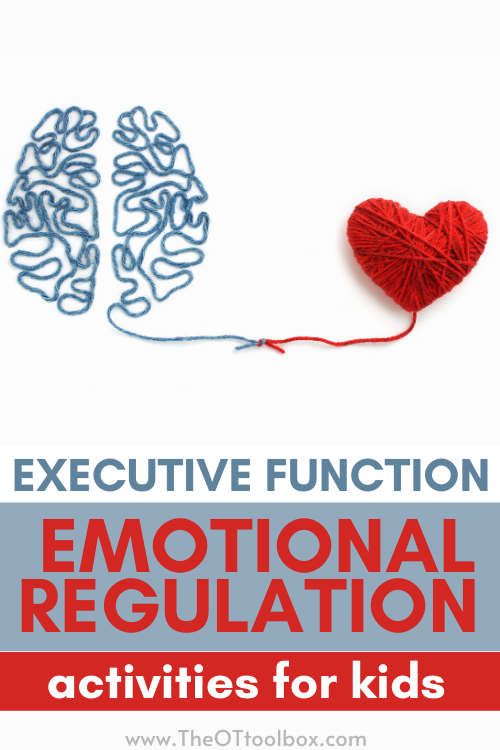 Executive function and emotional regulation activities for kids