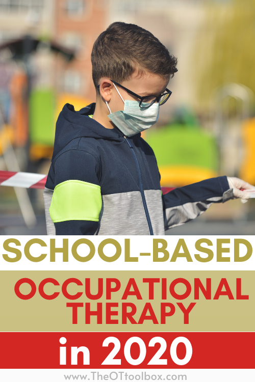 School occupational therapy sessions might look a lot different this school year. Here are activities to use in school based OT.