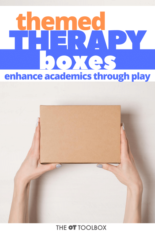 therapy boxes for occupational therapy activities