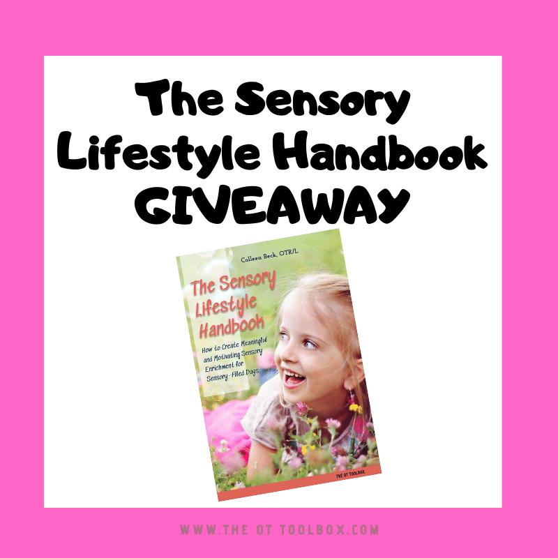 Sensory Lifestyle Handbook giveaway