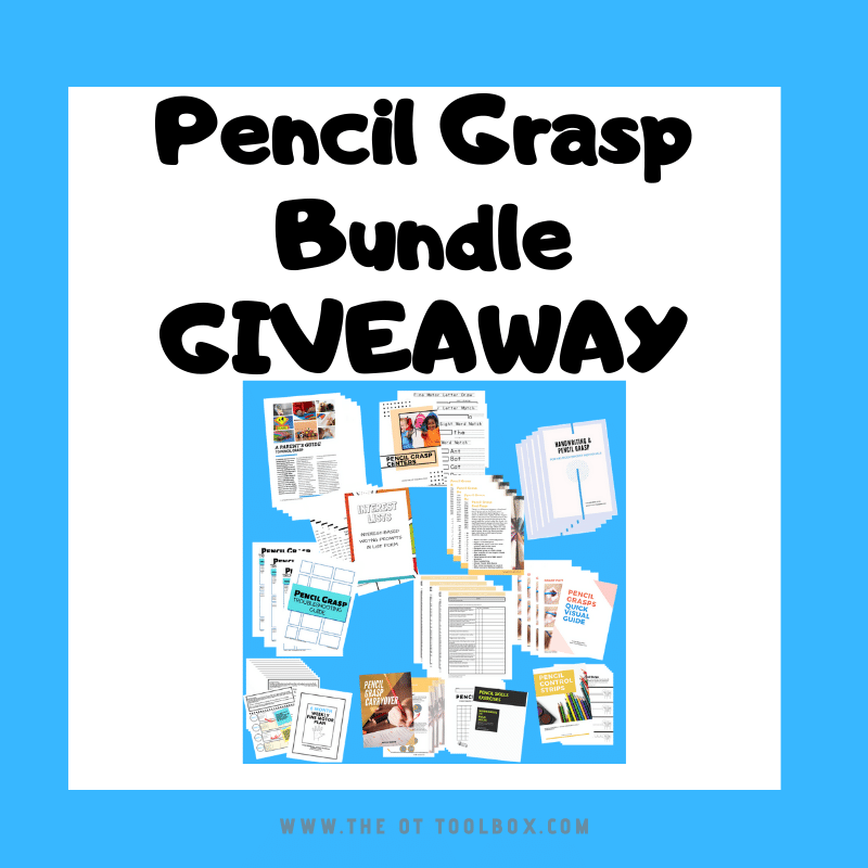 Pencil grasp bundle giveaway