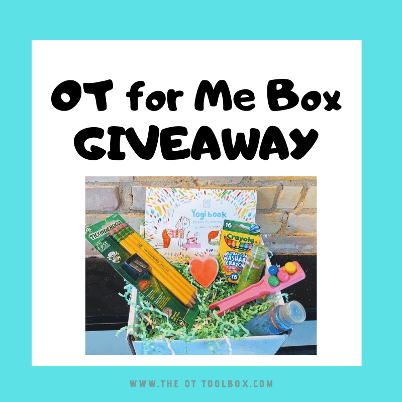 occupational therapy giveaway item