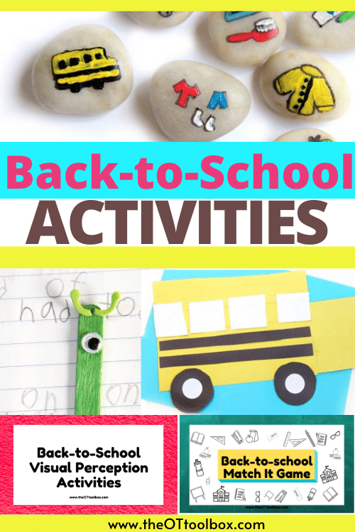 Back to school activities for kids of all ages, including first day of school activities, first day of school printables, back to school crafts, icebreaker activities, and more.