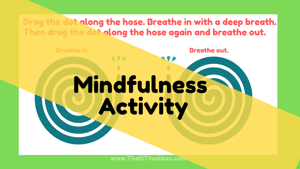 This community helper activity fosters mindfulness and deep breathing for a coping strategy.