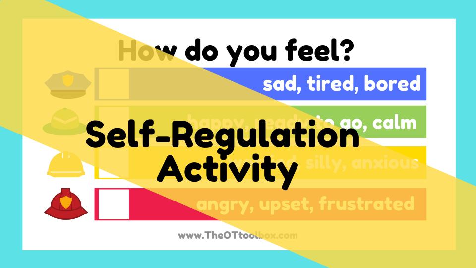 Self regulation activity for the community helper theme slide decks.
