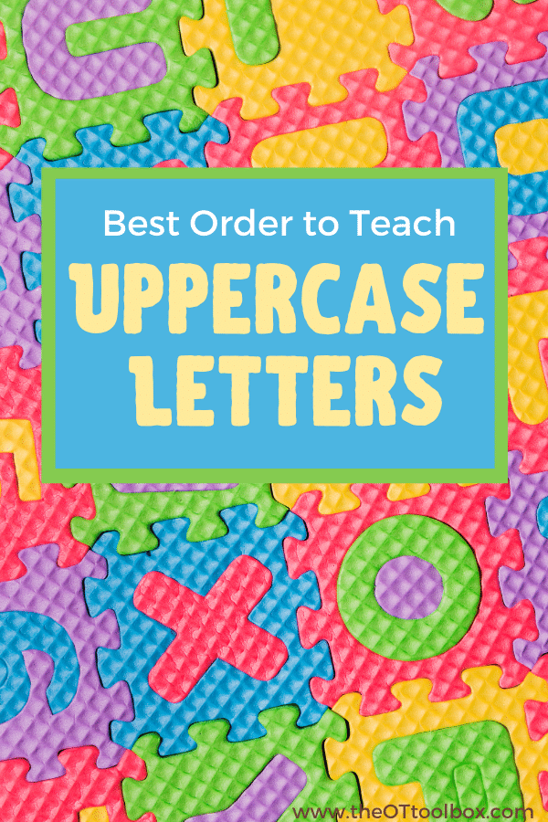 This is the order to teach uppercase letters.