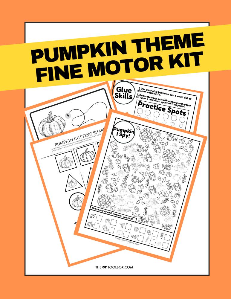 Pumpkin activity kit