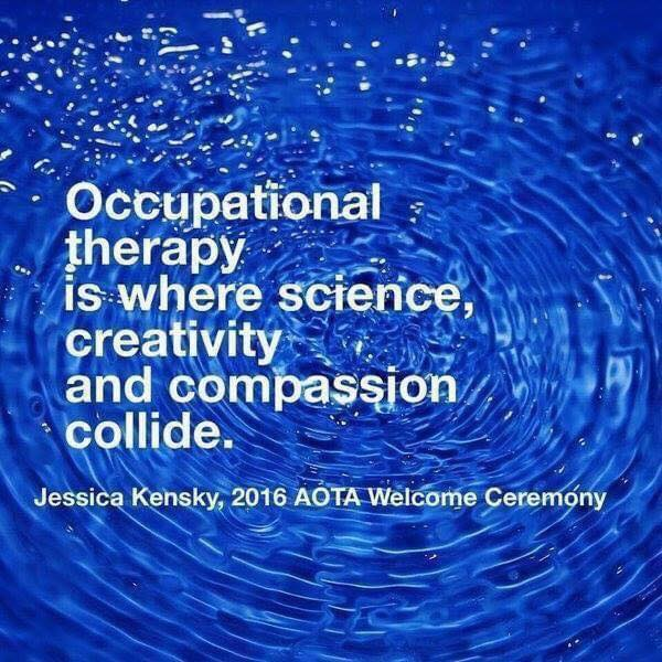 What is occupational therapy quote