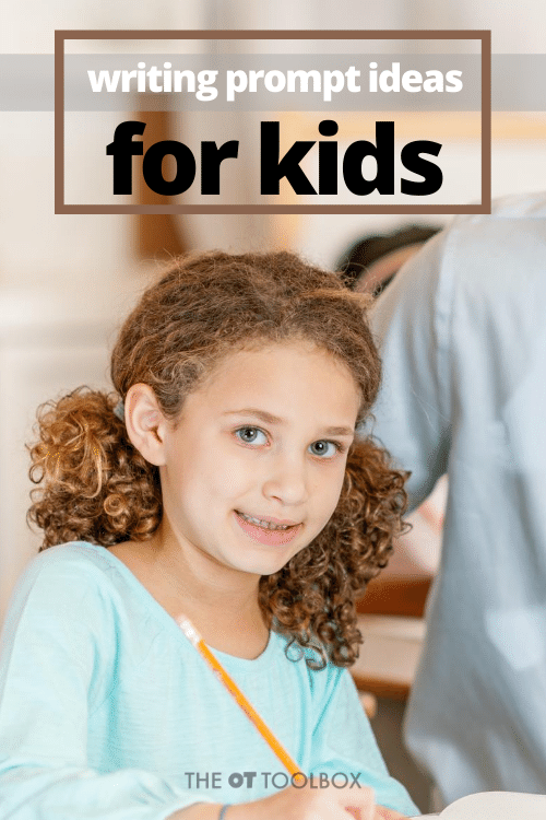 Writing prompt ideas for kids