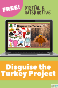 Disguise the Turkey free digital slide deck for teletherapy