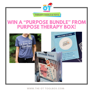 Occupational therapy business prize from a business created by occupational therapists.