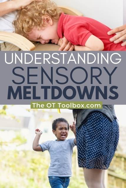 Parents often have questions about sensory meltdowns. Understand sensory meltdowns and resources to help.
