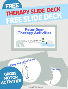 Polar bear therapy activities
