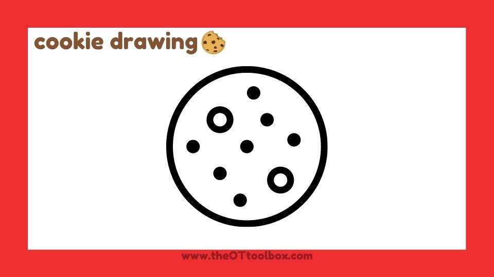 Use this cookie activity for visual motor skills in kids.