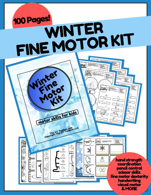 winter fine motor kit