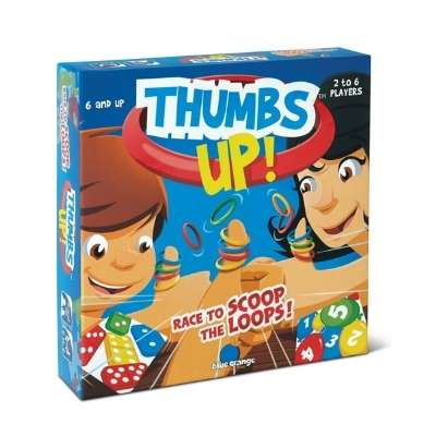Thumbs up is a bilateral coordination game for kids.