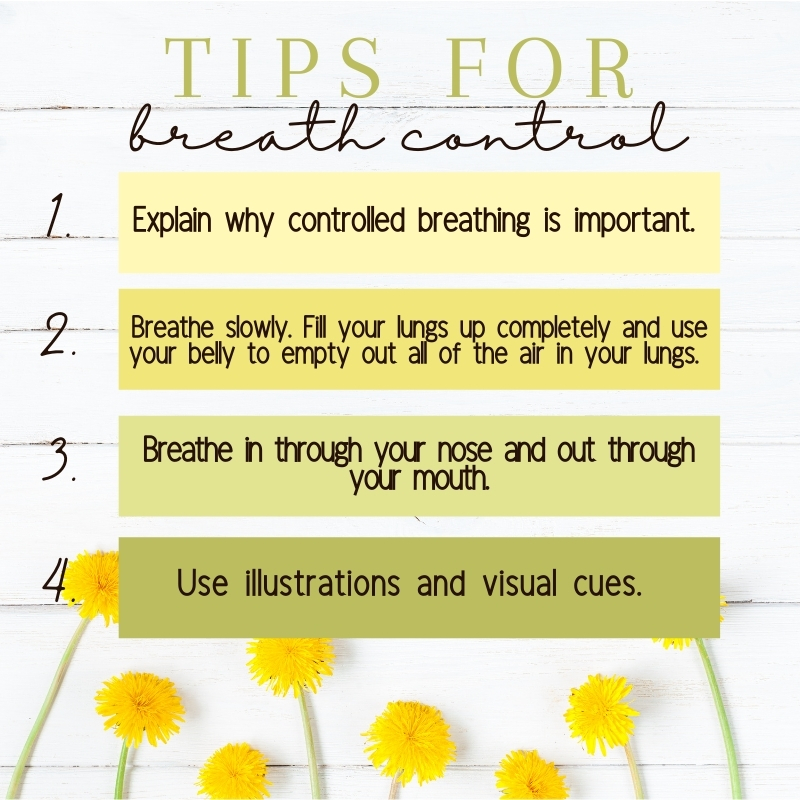 Tips for breath control