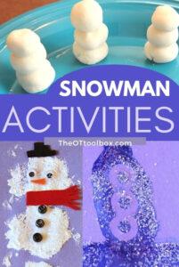 snowman activities